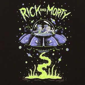 Rick And Morty 'Ripple Junction' Adult Swim Hoodie
